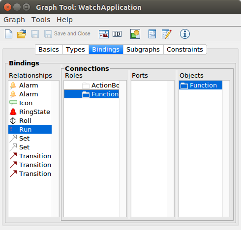 Graph Tool Bindings